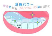 予防歯科/唾液の力